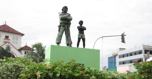 Kisah Heroik Pejuang Minahasa Jadi Inspirasi Patung Jatinegara