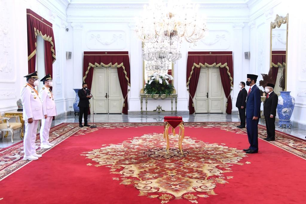 Pelantikan Gubernur & Wakil Gubernur Sulawesi Utara - (Ada 7 foto)